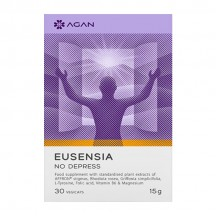 Agan Eusensia No Depress 30 φυτικές κάψουλες