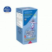 Chewy Vites Calcium & Vitamin D3 60 μασώμενες ταμπλέτες