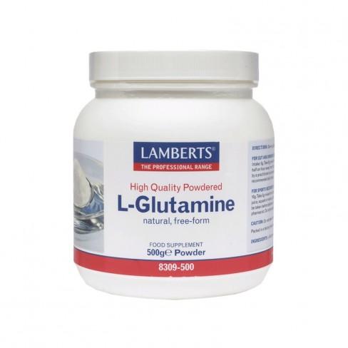 Lamberts L-Glutamine Powder 500gr ΣΥΜΠΛΗΡΩΜΑΤΑ ΔΙΑΤΡΟΦΗΣ